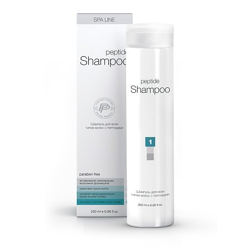 Шампунь для волос с пептидами