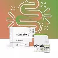 «Стамакорт»+Revilab SL 05: надежная защита пищеварительной системы